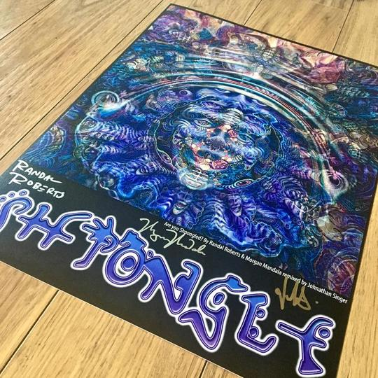 """Shpongled"" Remix SIGNED w/ small tear"