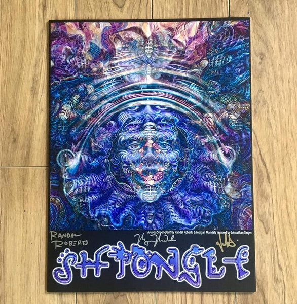 """Shpongled"" Remix SIGNED Limited Edition Print"