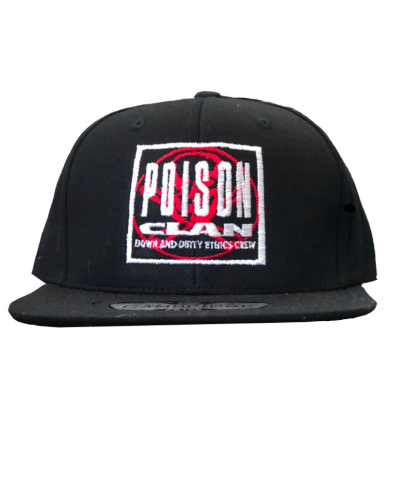 Poison Clan Logo Snap Back