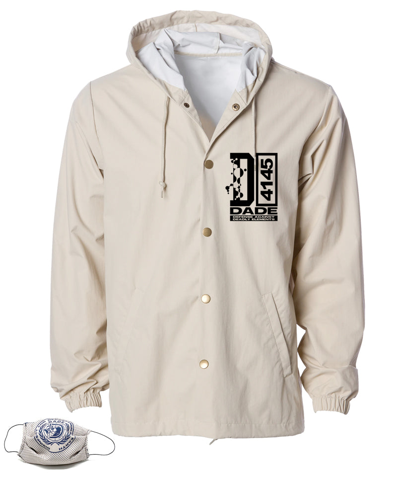 Defense Against Deadly Elements Coach Jacket