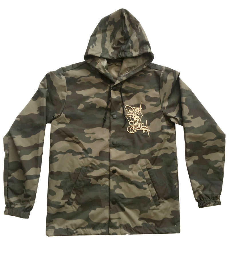Down And Dirty Camo Coach Jacket
