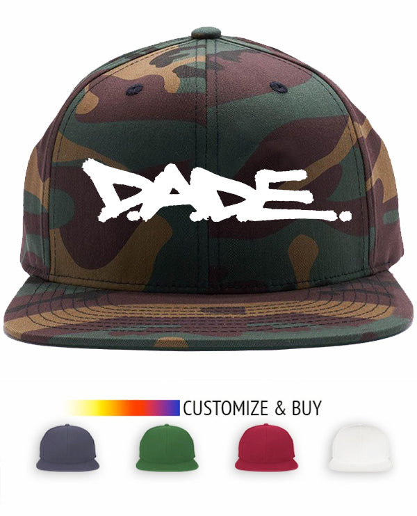 The Old Miami Camo Bill Snap Back