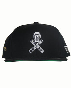 Skull Crossing Snap Back