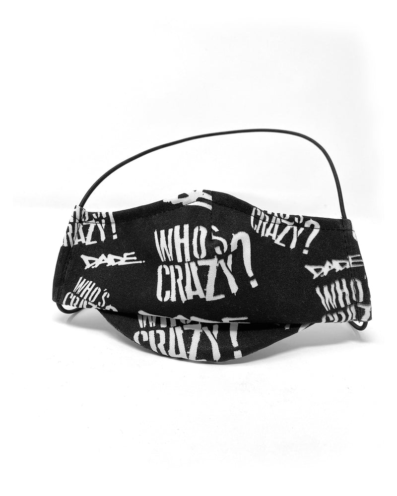 Crazy Hood Who's Crazy Mask