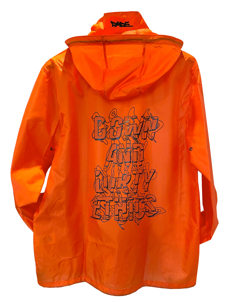 Down And Dirty Ethics Rain Coat