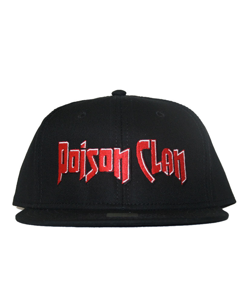 Poison Clan Black Snap Back
