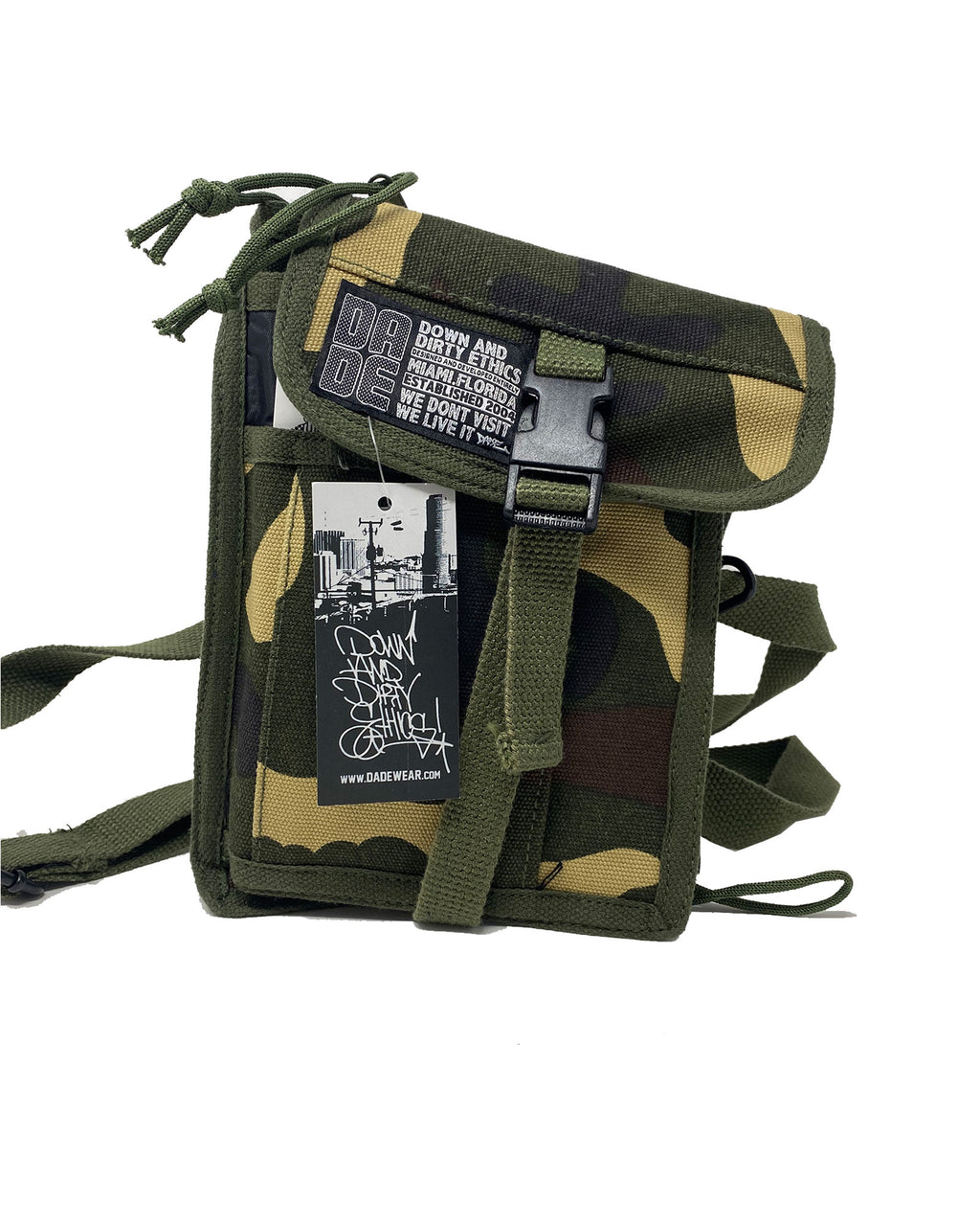 Camo Dade Travel Bag