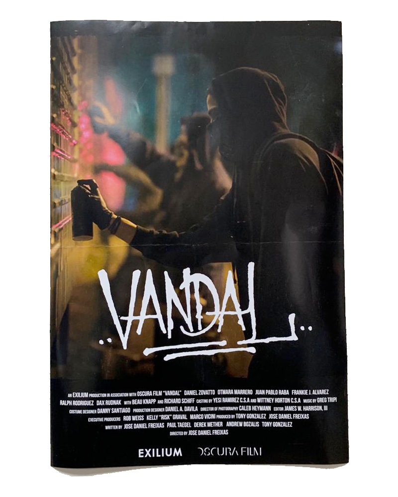 Vandal Movie Poster