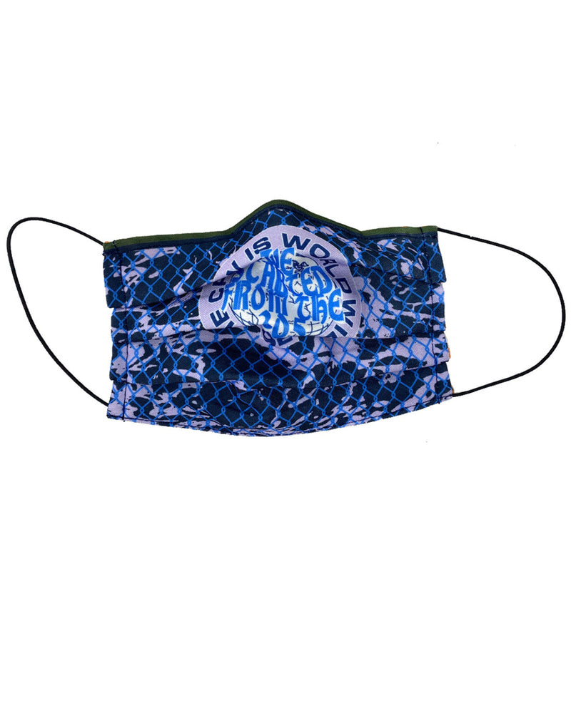 Worldwide reversible cloth mask