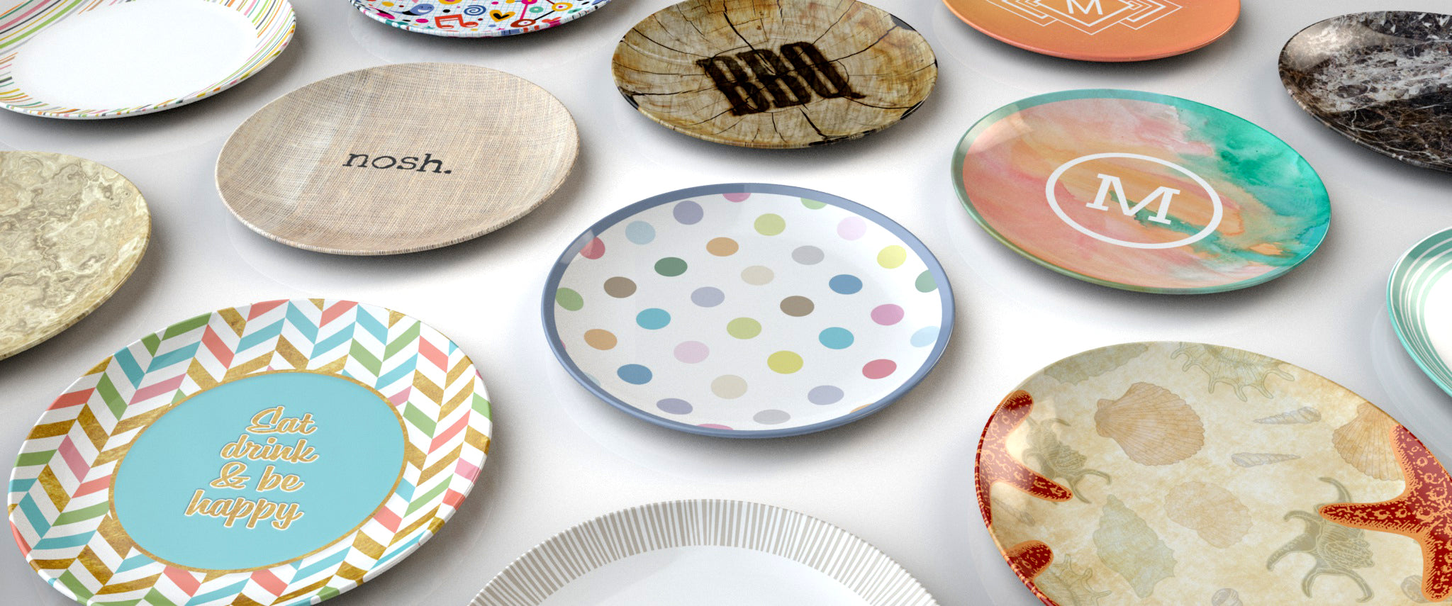 cute personalized plates unique gift idea