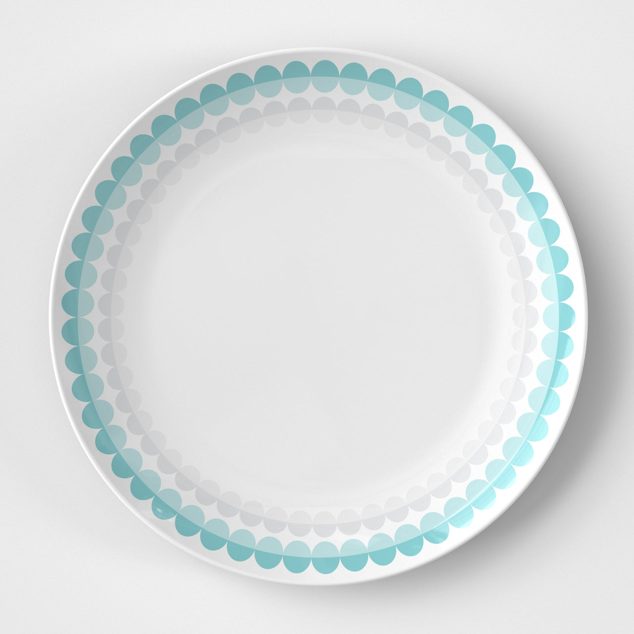 Pastel Dots Plate