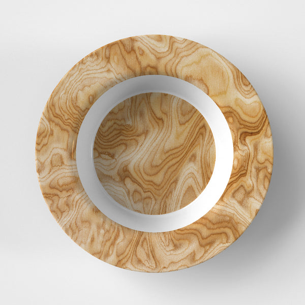 Burled Wood Bowl
