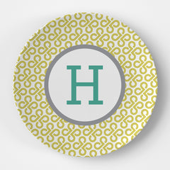 Butterfly Key Monogram Plate
