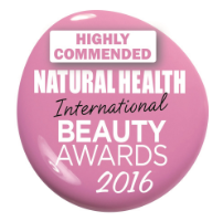 Natural Health International Beauty Aawards 2016 - Highly Commended