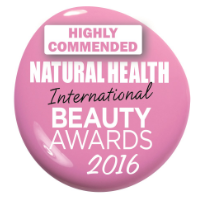 Natural Health International Beauty Awards 2016 - Highly Commended