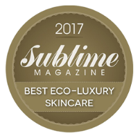 Sublime Magazine 2017 - Best Eco-Luxury Skincare