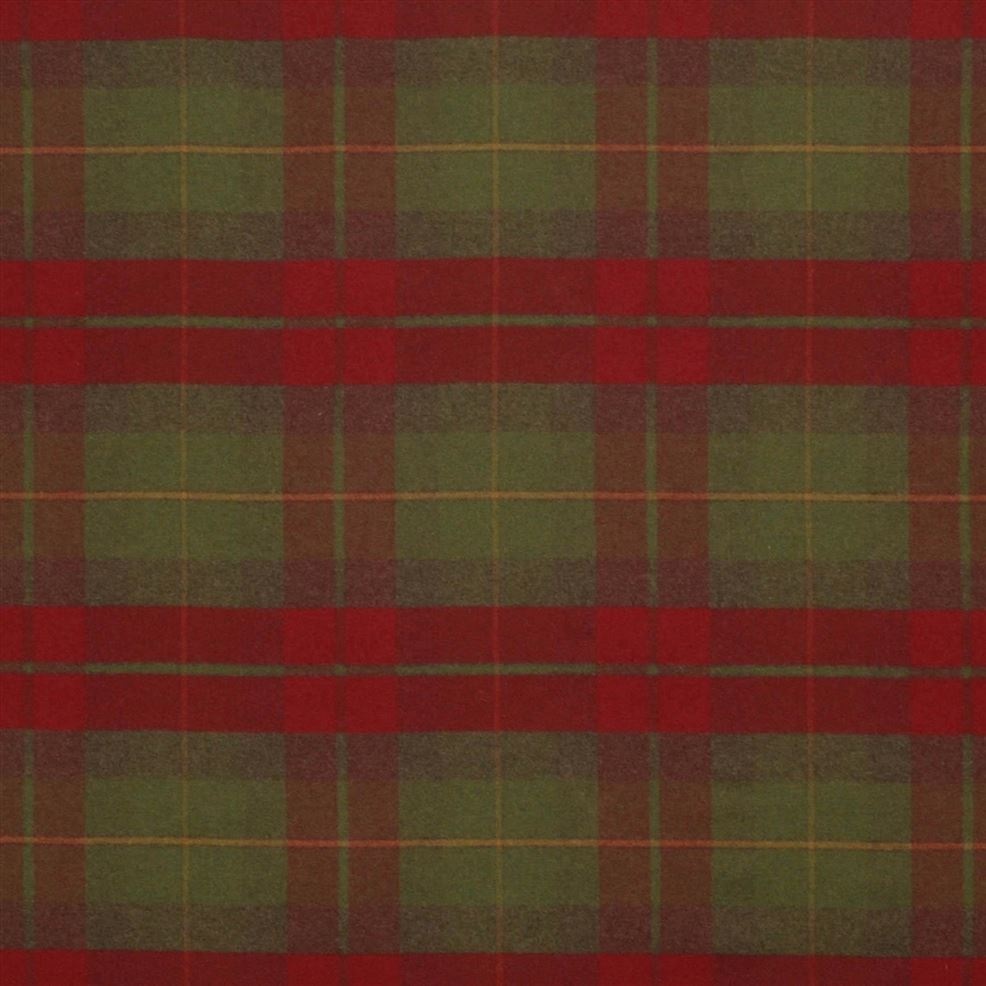 Coach Road Tartan Crimson FRL5060/03 Fabric