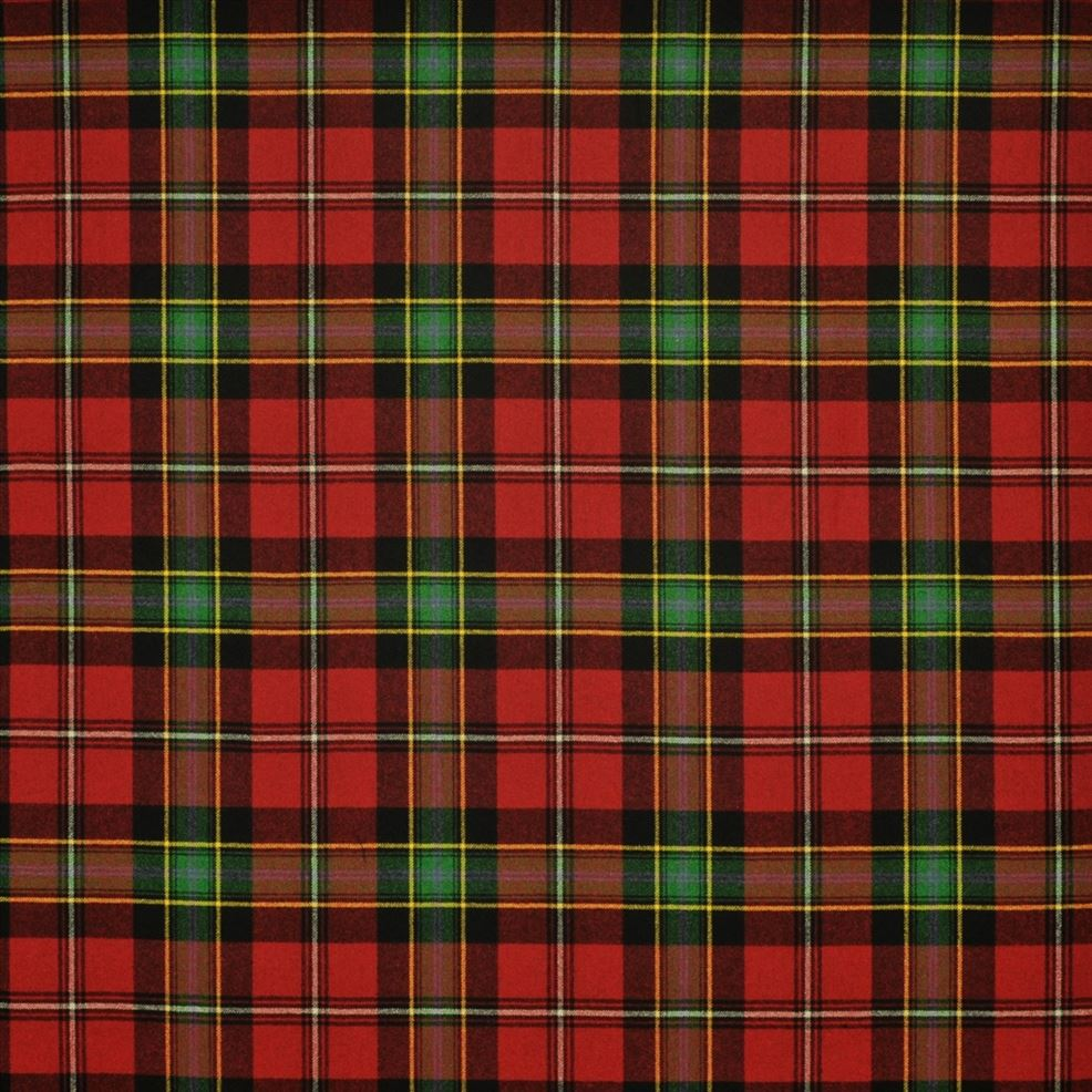 Dunmore Plaid Currant FRL5063/01 Fabric