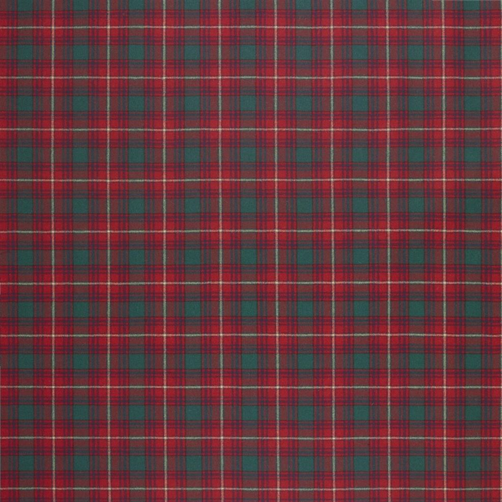 Doncaster Tartan Evening Red FRL5058/01 Fabric