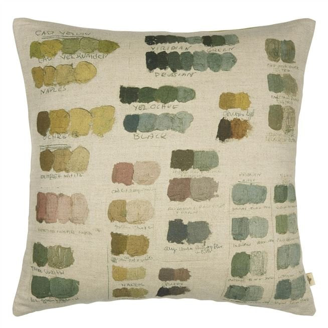 Neutral Mixed Tones Cushion