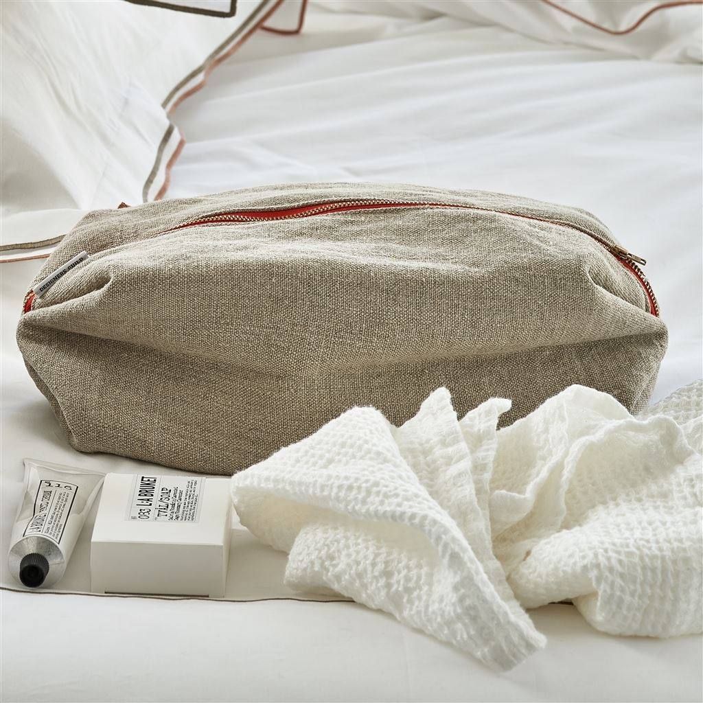 Brera Lino Pebble Large Washbag
