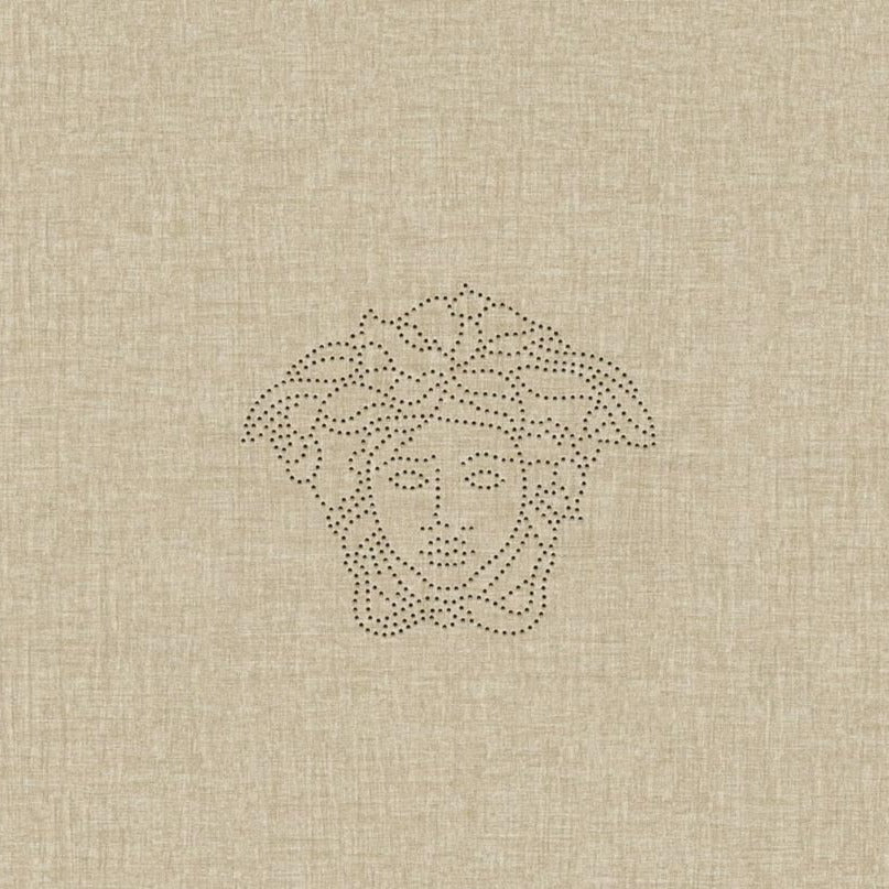 Medusa Beige Wallpaper Panel