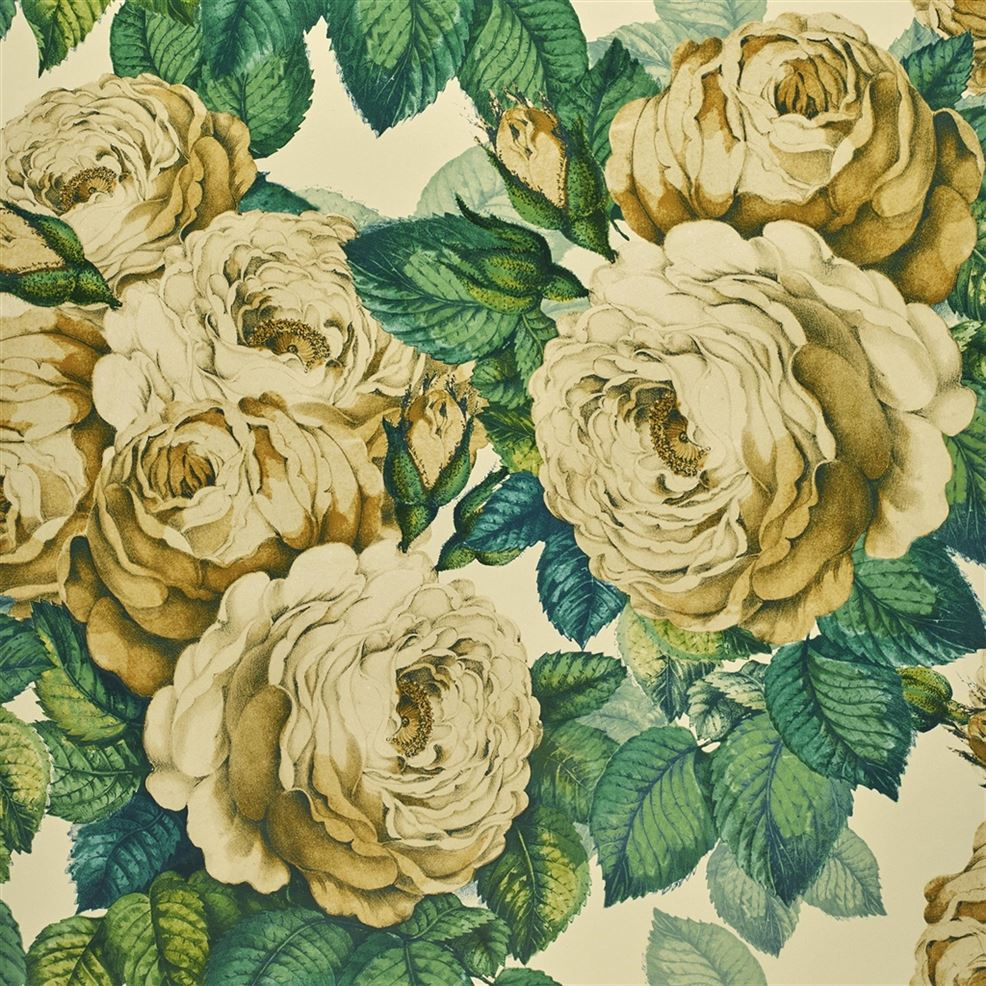 The Rose Sepia PJD6002/01 Wallpaper
