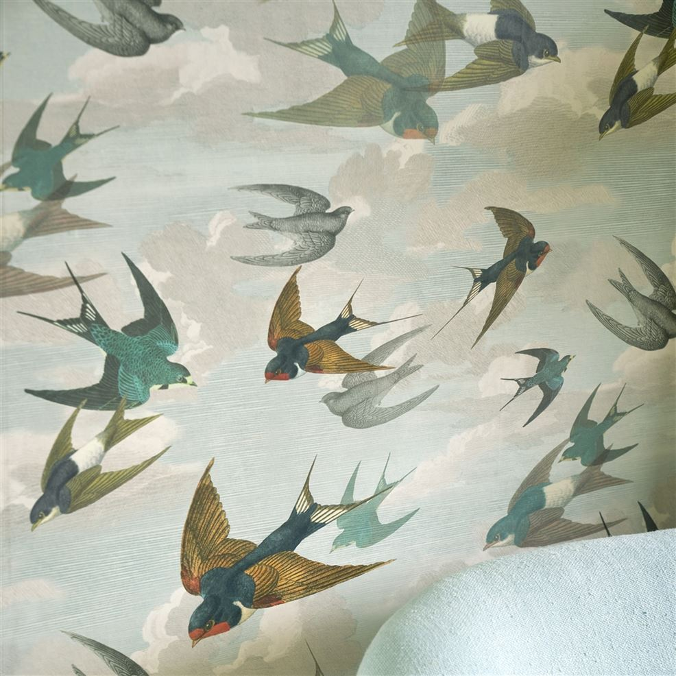 Chimney Swallows PJD6003/01 Wallpaper