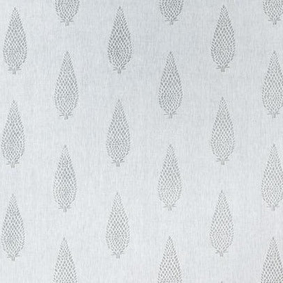 Manor Grey on Off White AW73006 Fabric