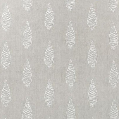 Manor Cream on Natural AW73008 Fabric