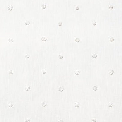 French Knot White AW73010 Fabric