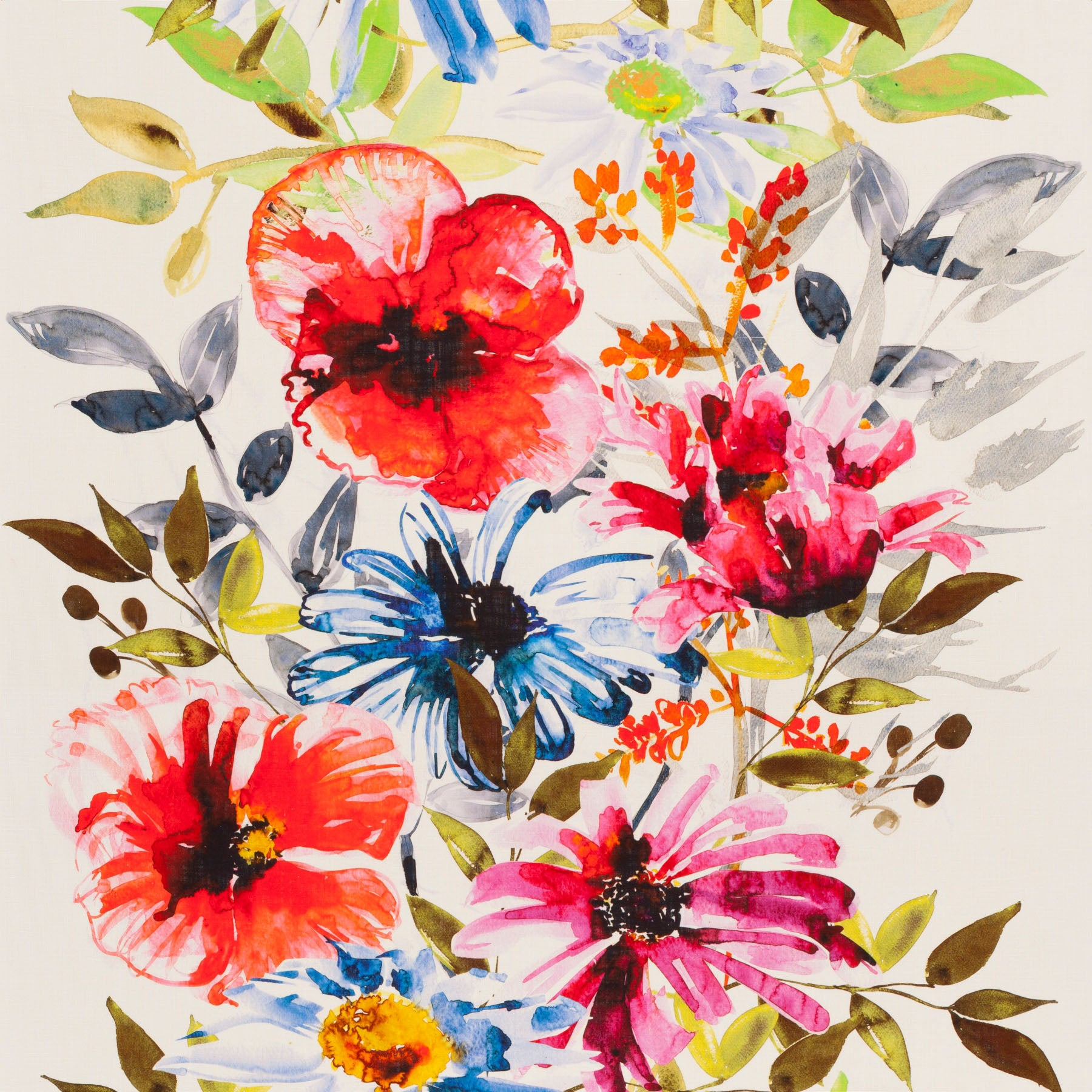 Flowers of Paradise CH2721/030 Fabric