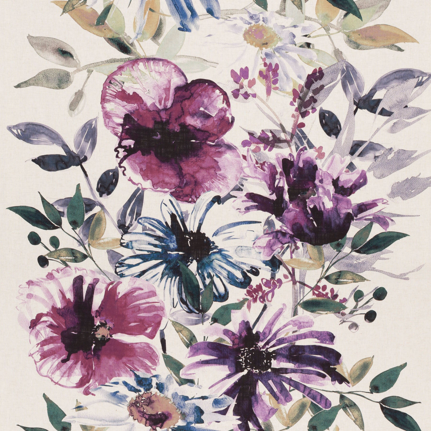 Flowers of Paradise CH2721/080 Fabric