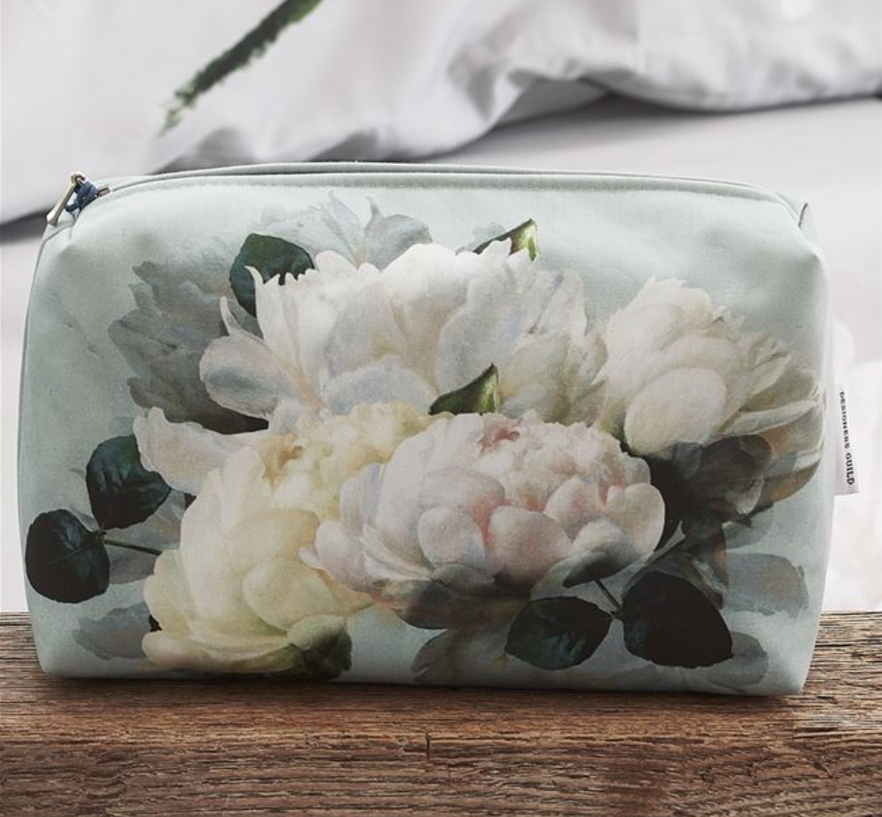 Peonia Grande Zinc Medium Washbag