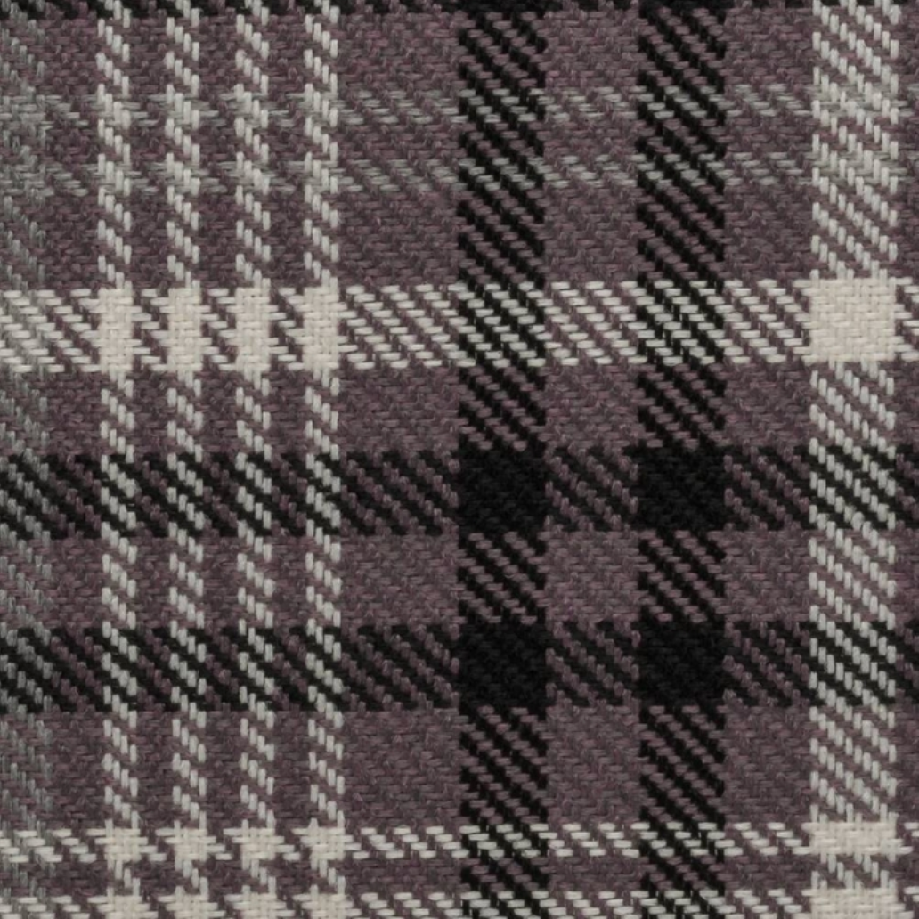 Scotland Purple Plaid Fabric