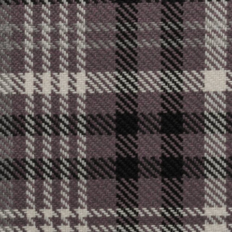 Scottish Tartan Purple Plaid Fabric