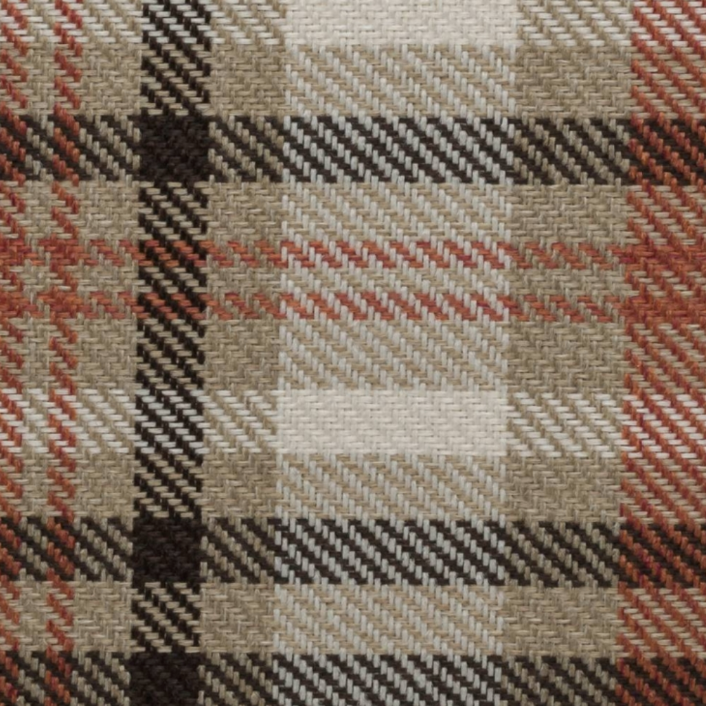 Scotland Beige Plaid Fabric