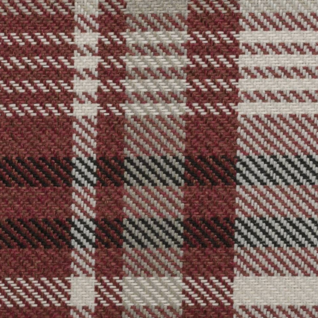 Scotland Marsala Plaid Fabric