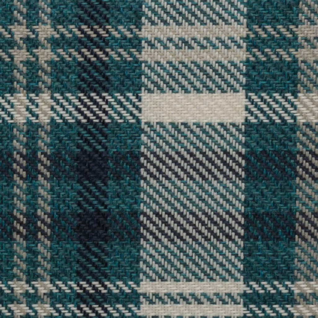 Scotland Turquoise Plaid Fabric