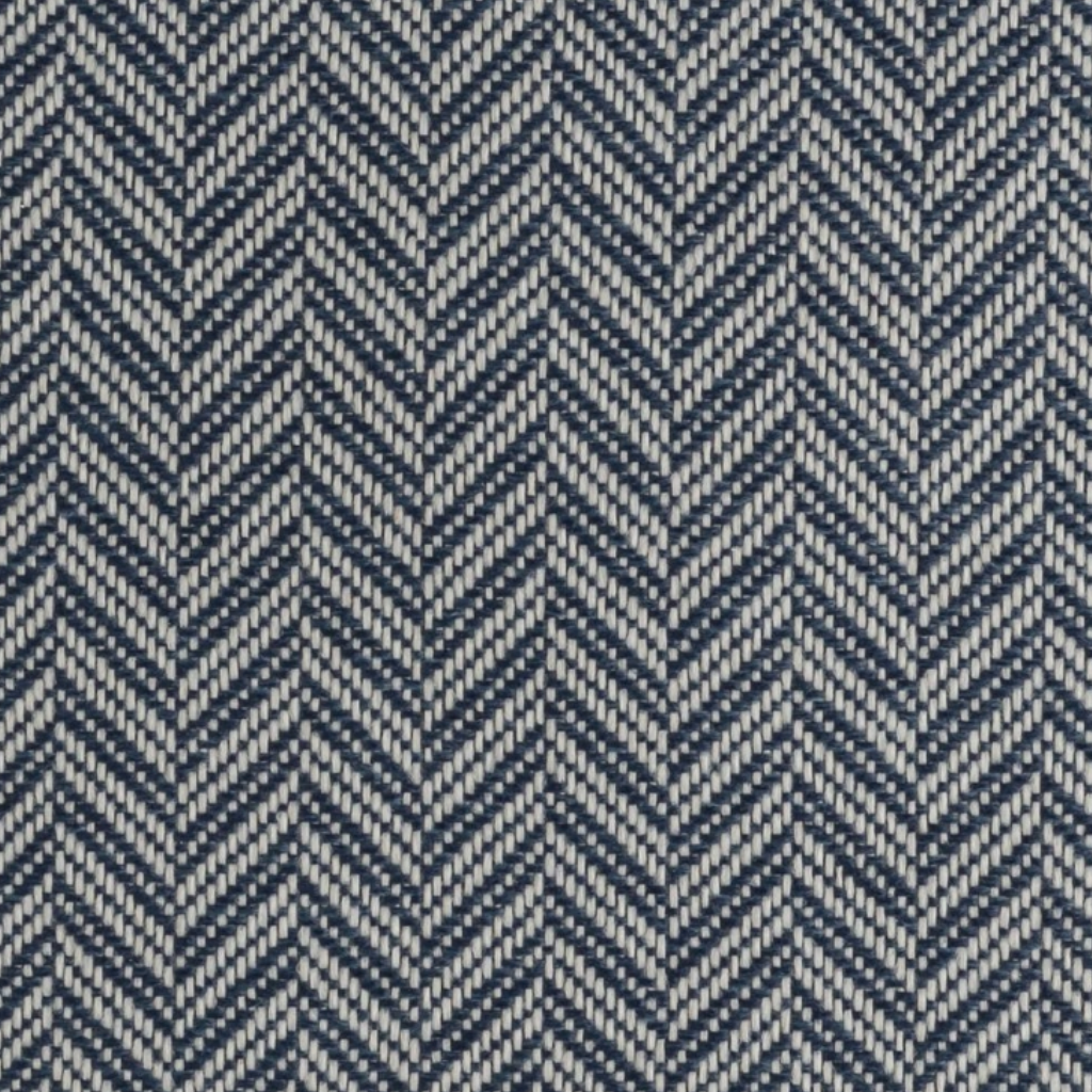 Glasgow Deep Blue Fabric