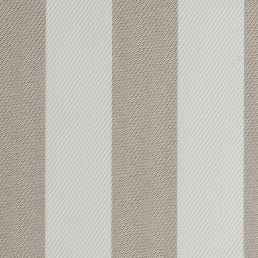 Beachy Stripes Toffee Fabric