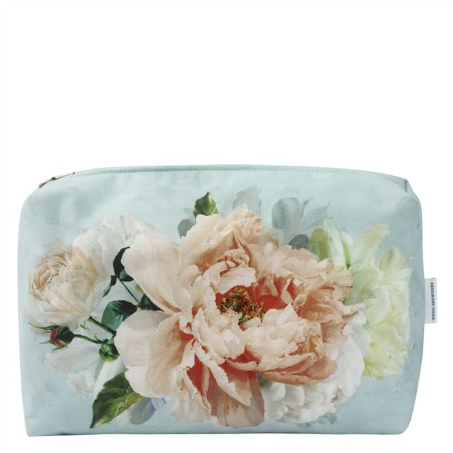 Peonia Grande Zinc Large Washbag