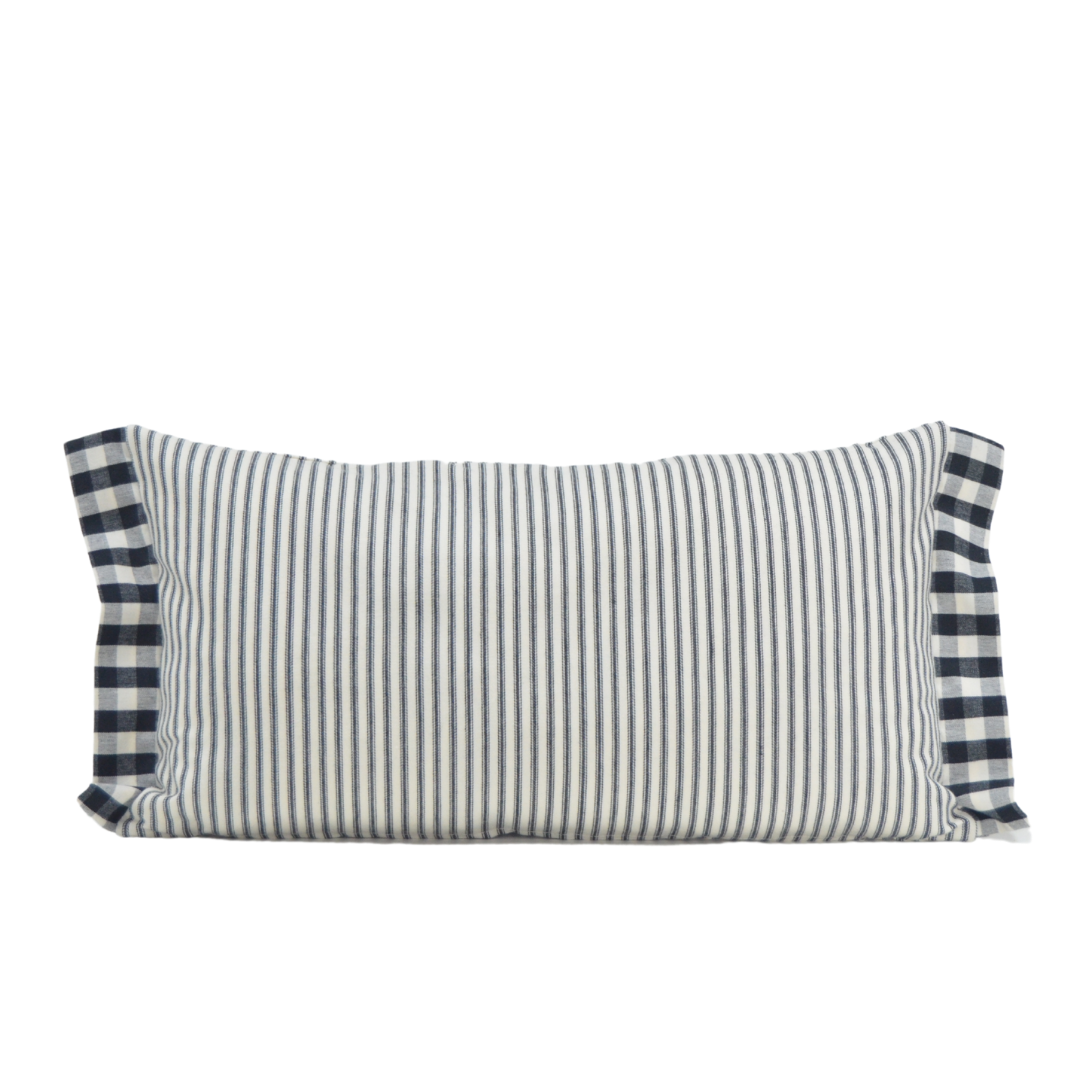 Picnic Black & White Cushion