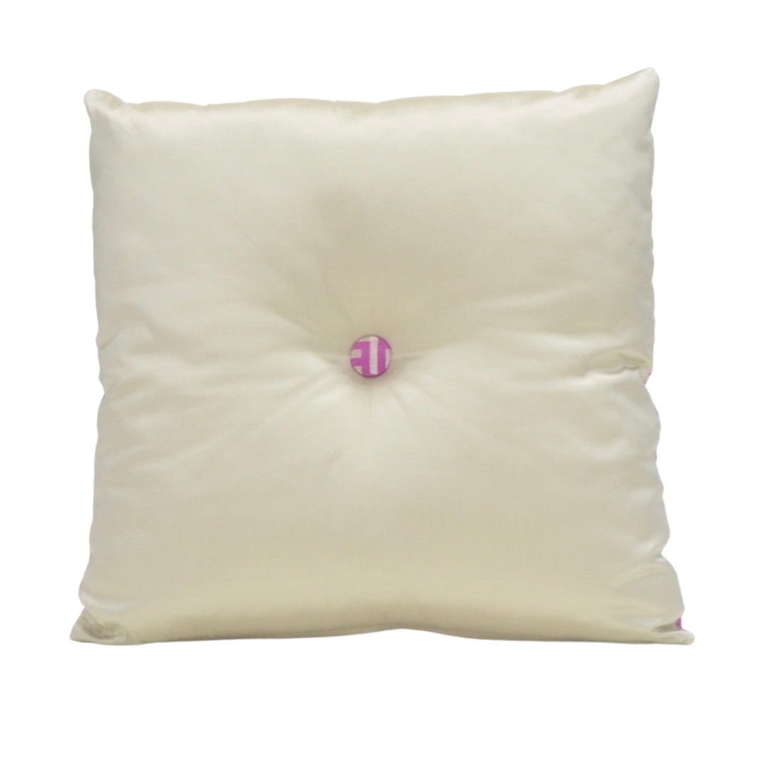 Pink & Champagne Cushion