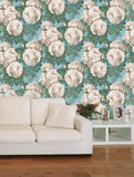 The Rose Swedish Blue PJD6002/03 Wallpaper