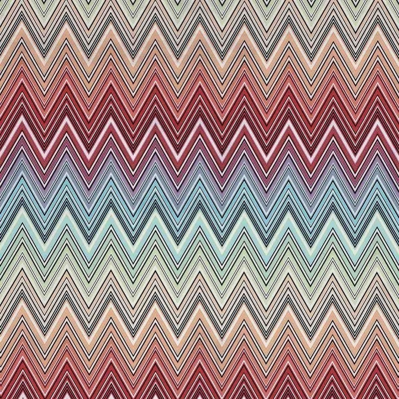 Kew MTC Arancio Multicolor Outdoor Fabric