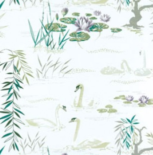 Swan Lake NCF3910/02 Fabric