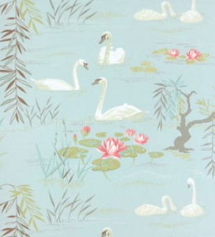 Swan Lake NCF3910/05 Fabric