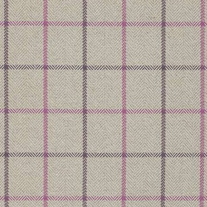 Laurence Plaid Plum & Flax AW7870 Fabric