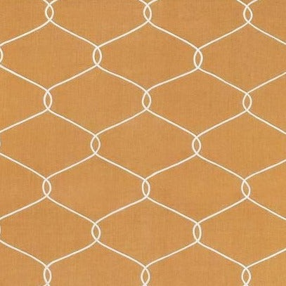 Theresa Trellis Gold AW7857 Fabric